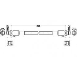 Flexible de Frein Avant - Vw Passat 3B Audi A4 A6 109 394