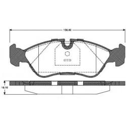 Plaquettes de Frein Avant - Astra F Calibra A KAdett E Vectra A - B 228630