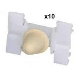 10x Clips Panneau de Porte - Bmw Serie 3 E36 VCF1738*10