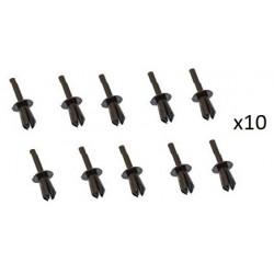 10x Clips de Fixation Pare Boue - Bmw Serie 3 serie 5 serie 7 VCF1331 *10