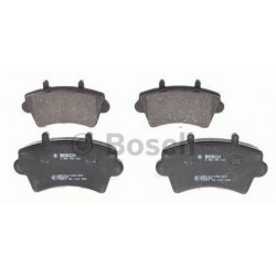 4x Plaquettes de Frein Avant - Nissan Interstar Opel Movano Renault Master 2 Bosch