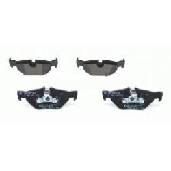 4x Paquettes de Frein Arriere - Bmw Serie 1 3 Bosch 0986494272