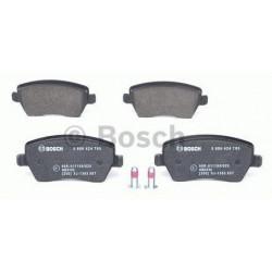 4x Plaquettes de Frein Avant - Dacia Logan Nissan Micra Renault Clio 3 Modus Bosch 0986424795