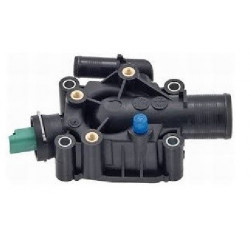Boitier Eau Thermosthat Sonde de Temperature - Berlingo C2 C3 C4 Xsara Picasso Peugeot 206 207 307 308 Partner 1.4 - 1.6 16v ...