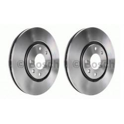 2x Disques de Frein Avant - Citroen Xantia Peugeot 406 Bosch 0986478831