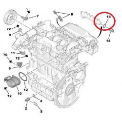 Joint de Capteur de Pression de Carburant - Peugeot Citroen 1.4 / 1.6 Hdi