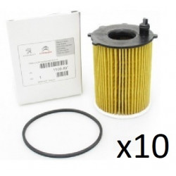 10x Filtres a Huile - Peugeot Citroen 1.6hdi et 1.4 Hdi PSA l343c *10 PSA PACKS D'ARTICLES