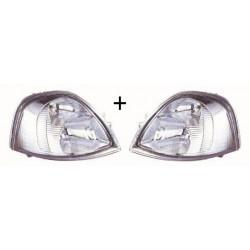 2x Phares Avant Droit+Gauche - Nissan Interstar Opel Movano Renault Master 2 6042092E+6042102E