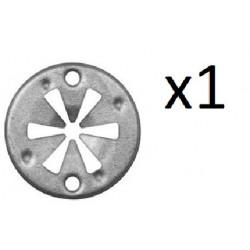 1x Clip de Fixation Cache Sous Moteur - Audi Seat Vw Skoda VCF2015