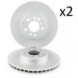 2x Disques de Frein Avant - Bmw X3 X5 3.0 4.4 BS6220
