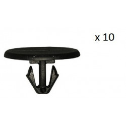 10x Clips de Fixation Capot - Citroen Peugeot VCF221 *10