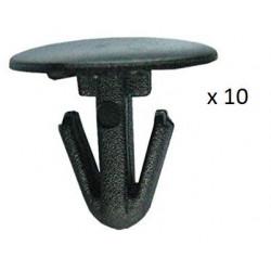 10x Clips de Fixation Joint de Porte - Citroen Fiat Lancia Peugeot VCF410 *10