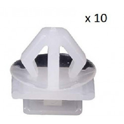 10x Clips de Fixation - Peugeot 206 306 VCF2338 *10