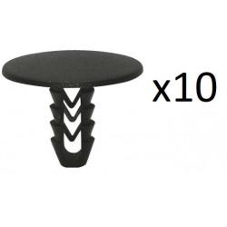 10x Clips de Fixation Garniture de Toit - Fiat Iveco VCF161 *10