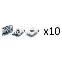 10x Clips de Fixation - Peugeot Renault Volvo VCF336 *10