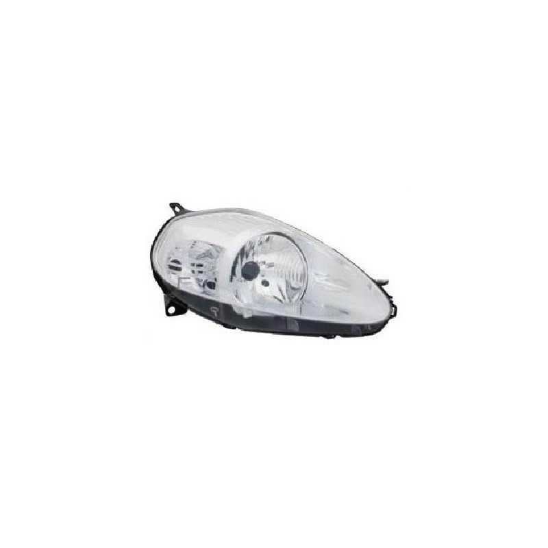 Pour Fiat Grande Punto 2008-2011 côté//basse 501 H4 Xenon Ampoules De Phare