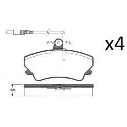 4x Plaquettes de Frein Avant - Renault Espace 2 LP822