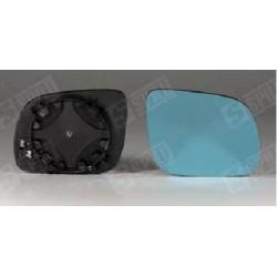 Glace de Rétroviseur Bleu Droit + Support - A3 A4 A6 A8 10218