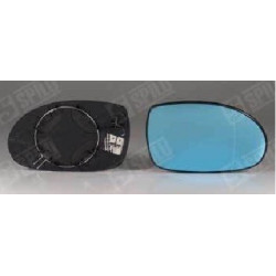 Glace de Rétroviseur Bleu Droit + Support Dégivrant - Citroen C5 10514