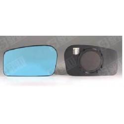 Glace de Rétroviseur Bleu Gauche + Support Dégivrant - Fiat Ulysse Citroen Evasion 10563