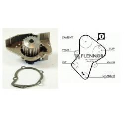 Kit Courroie Distribution + Pompe a Eau - Citroen Peugeot XUD Diesel et Turbo