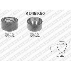 Kit de Distribution - Citroen C5 C8 Peugeot 407 607 807 2.2 Hdi Ulysse JTD KD459.50