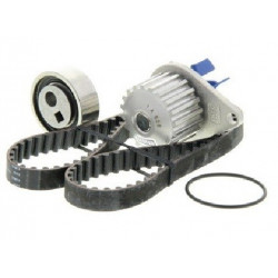 Kit Distribution+Pompe a Eau 1.0 1.1 - Peugeot 106 206 306 Partner Citroen Ax Saxo Berlingo C15 104 Dents KH02+c110