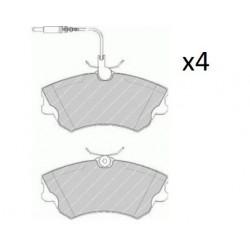 4x Plaquettes de Frein Avant - Renault Espace 3 2.2DT 2.0 i 231.0