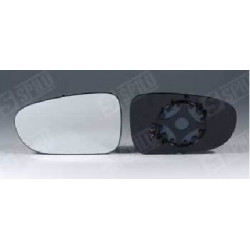 Glace de rétro gauche + support dég - Seat Alhambra Ford Galaxy 10965