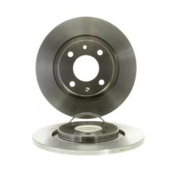 Jeu de 2 disques de frein avant Citroen : Berlingo, C2, C3, C4 cactus, Peugeot : 301, Partner
