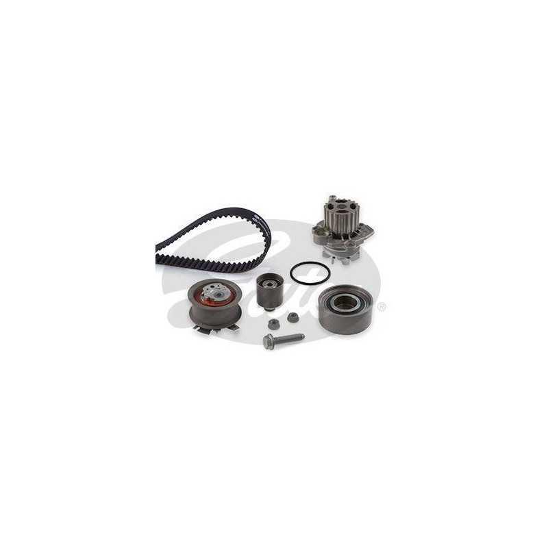 Kit de distribution avec pompe à eau Audi : A3, A4, A6, Seat : Altea, Leon, Skoda Octavia, Volkswagen : Golf 5, Passat, Toura...