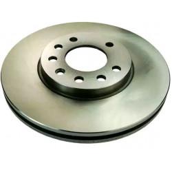 Jeu de 2 disques de frein avant Opel : Astra ( G, H ), Combo, Corsa C, Meriva B, Zafira ( A, B )