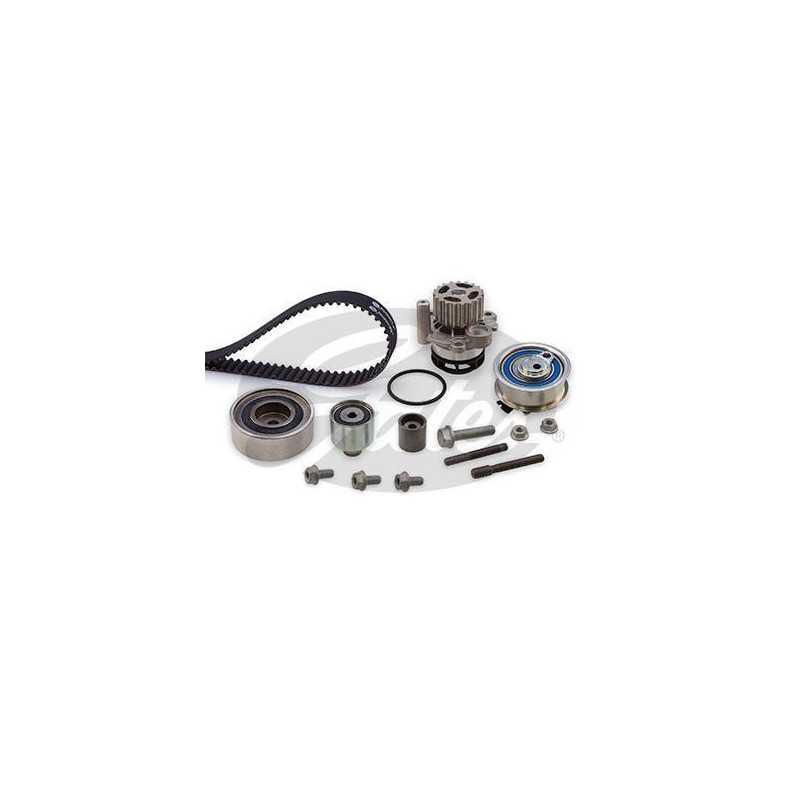 Kit distribution + pompe à eau : Audi , Seat , Skoda , Volkswagen ( 1.2 TDI , 1.6 TDI , 2.0 TDI ) KP25649XS-1 Gates Kit distr...