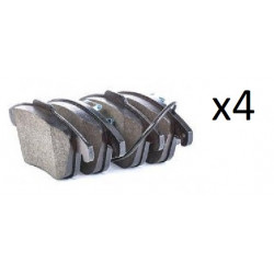 4x Plaquettes de Frein Avant - Audi A4 A5 05P1391 FIRST A5