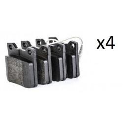 4x Plaquettes de Frein Arriere - Peugeot 406 605 607 0986494055 Bosch 605