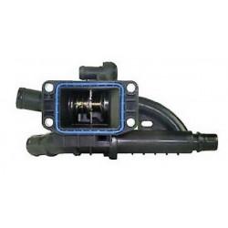 Boitier + Thermostat d Eau - Citroen Berlingo C3 C4 C5 DS3 DS4 Jumpy Fiat Scudo Peugeot 2008 207 208 308 408 508 Expert Partn...