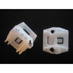 Kit d'agrafes lève-vitre électrique, AVANT, droit ou gauche - Vw Transporteur T5 058+59 BF-AUTOPARTS T5