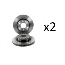 2x Disques de Frein Avant - Iveco Dailly 104590739 FIRST Disque de frein