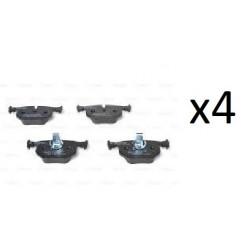 4x Plaquettes de Frein Avant - Audi A4 A5 Bosch 0986494538 Bosch Plaquette de frein