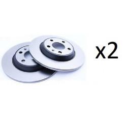 2x Disques de Frein Avant Ventile - Bmw Serie 1 0986479213 Bosch BMW