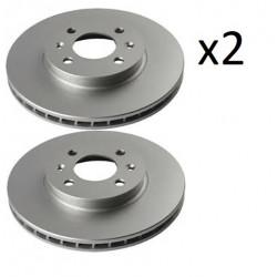 2x Disques de Frein Avant - Hyundai Accent 3 i20 Kia Rio 2 j3300324 FIRST Accent