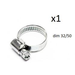 1x Collier de Serrage Durite - diametre 32-50 CO1232050 FIRST Outillage