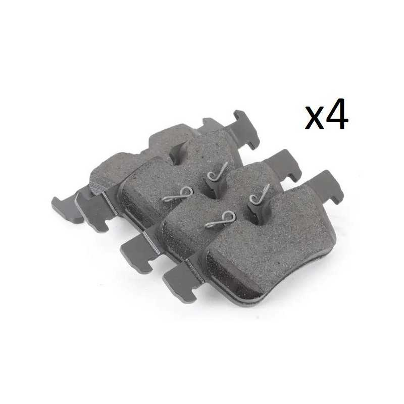 4x Plaquettes de Frein Arriere - Bmw Serie 2 X1 X2 Mini Clubman Countryman Bosch 0986494812