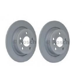 2x Disques de frein arriere Bmw Serie 2 X1 X2 Mini Clubman Countryman Bosch 0986479c92