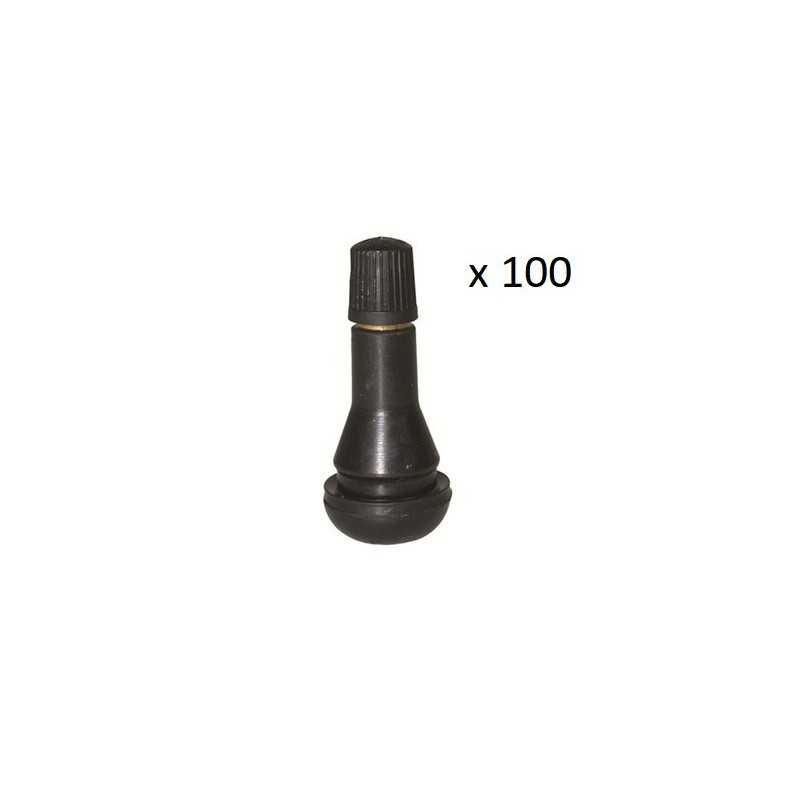 100x Valves de Roue Tr413 - Courte BF-tr413*100