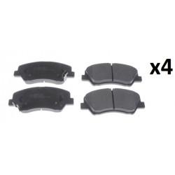 4x Plaquettes de Frein Avant - Hyndai Elantra i20 i30 Kia Carens Ceed Sorento 2 N3600554