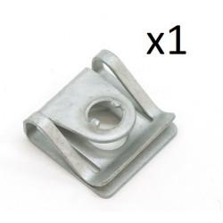 1x Clip de Fixation Cache Sous Moteur - Audi A4 A6