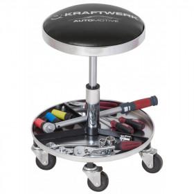 Tabouret sur Roulettes Avec Range Outils - Atelier 3984