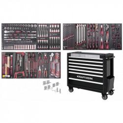 Servante d'Atelier Avec 7 Tiroirs - 273 outils