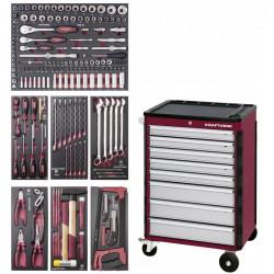 Servante d'Atelier 8 Tiroirs HIGHTECH - 187 outils